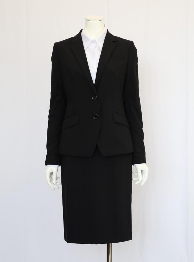 RENTAL [M] 【リクルートセット】テーラードジャケットスーツ ブラック