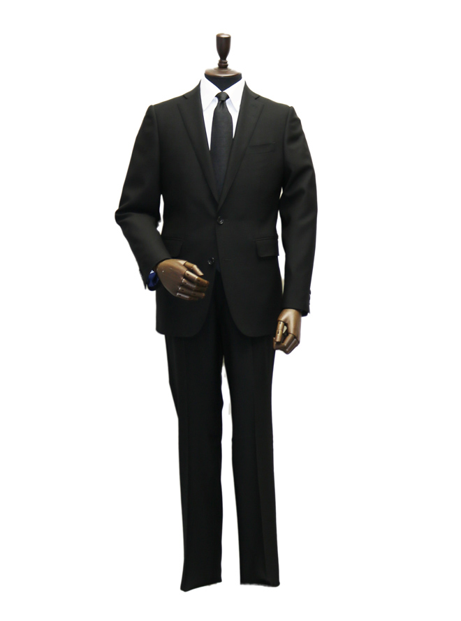 [A5] 【メンズブラックフォーマル】スーツ001 ブラック