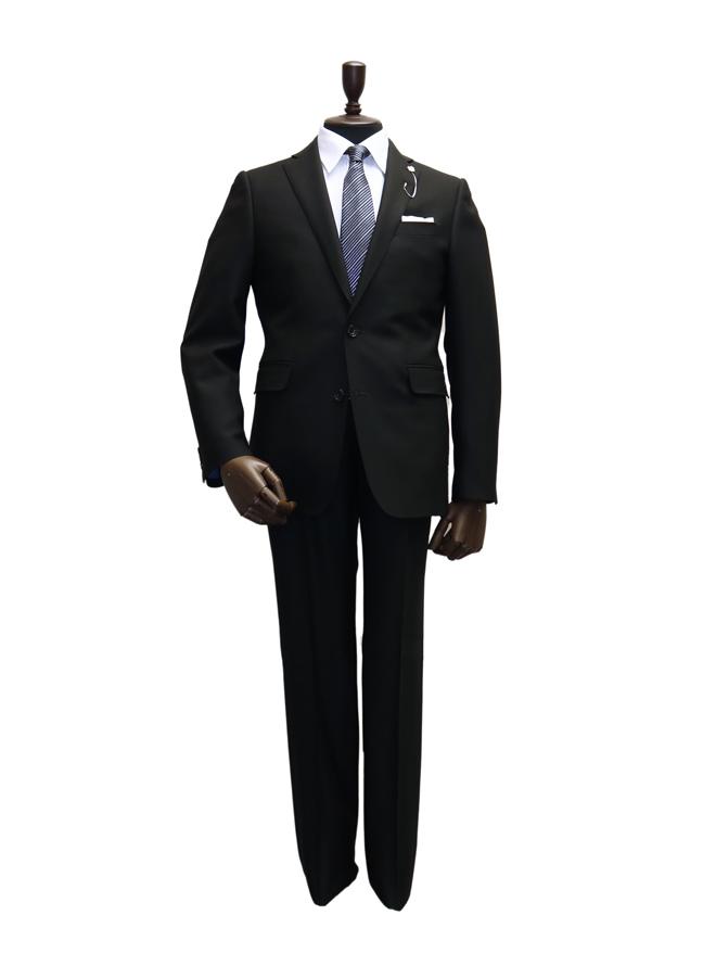 [Y5] 【メンズブラックフォーマル】スーツ001 ブラック