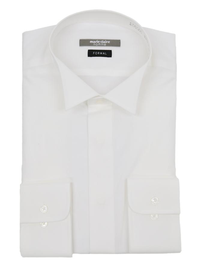 [39-82] 【メンズパーティースーツ】Yシャツ001 オフシロ