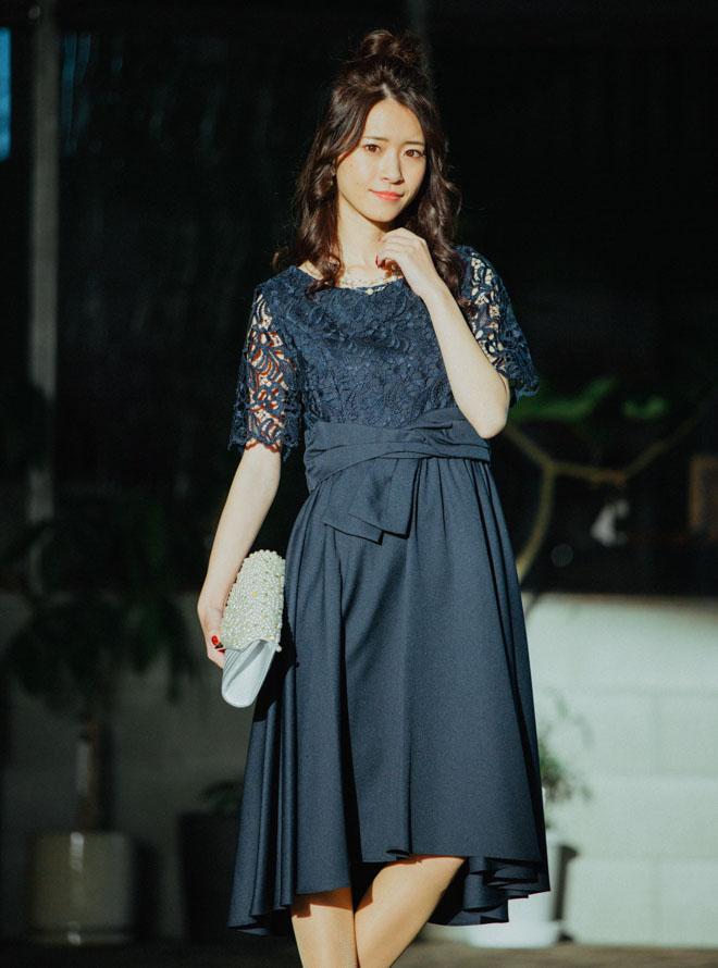 [M] 【4点セット】ドレス・バック・ネックレス・イヤリング