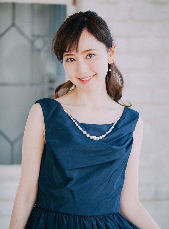 [M] オーバースカート&アクセサリー付ワンピース