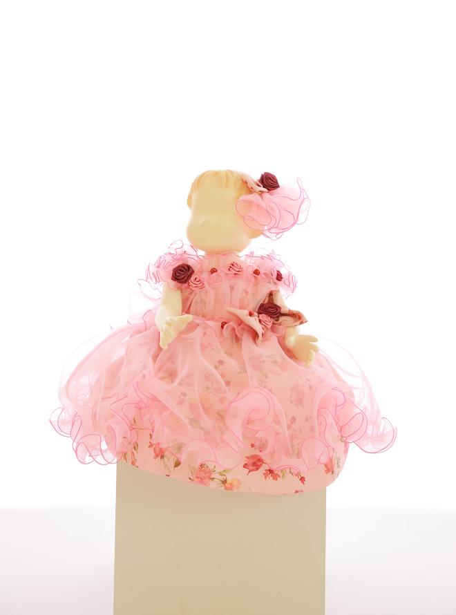 【レンタル】[80cm] ベビードレス028 ピンク