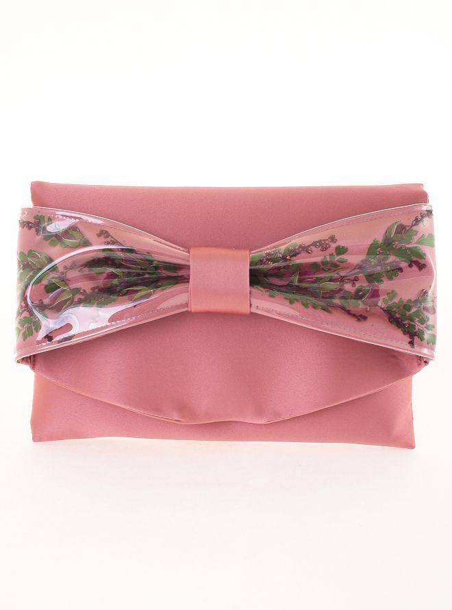 バラクラッチバック(リボン) ピンク