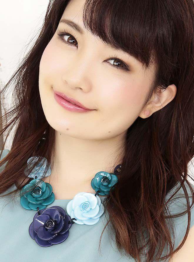 【レンタル】お花モチーフネックレス47cm/花4cm~6cm ネイビー